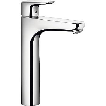 Hansgrohe Mitigeur De Lavabo Design à Bec Haut Ecos Xl Chrome