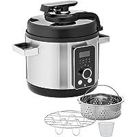 WMF Lono Multicuiseur 8 en 1 6 l, autocuiseur électrique, cuiseur à riz, cuiseur vapeur, 1100 W, machine de cuisson…