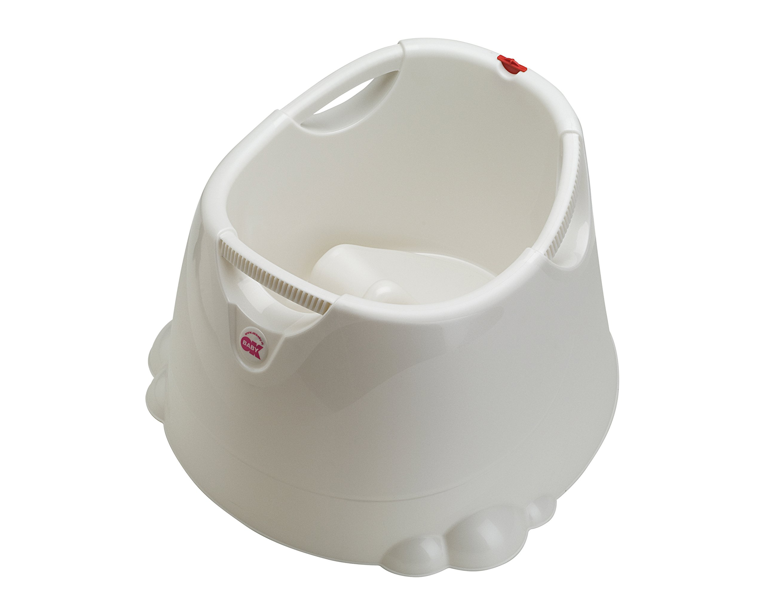 OKBaby Opla Shower Bath and Baby Pool, Pearl White