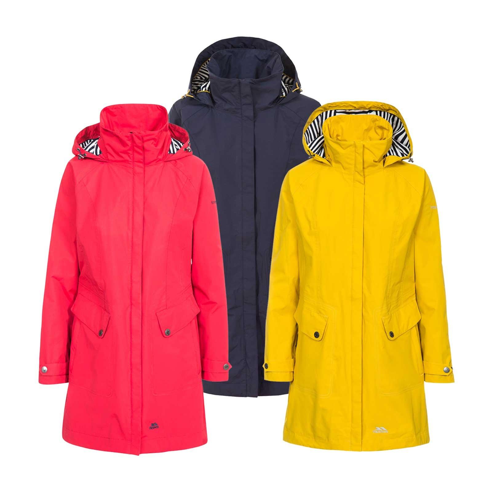 4776aef425b Trespass Women's Rainy Day Waterproof Rain Jacket with Concealed Hood