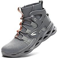 JUDBF Chaussure de Securite Homme Legere et Confortable Chaussures de Travail avec Embout de Protection en Acier Bottes…