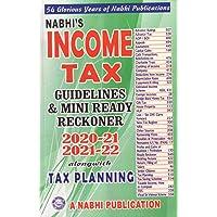 Nabhi Income Tax Guidelines & Mini Ready Reckoner 2020-21 2021-22