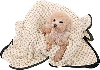 OHANA weich und warm Pet Decke Hund Katze Decke Dot Fleece Cover für Hunde Welpen und Katzen waschbar