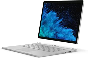 Microsoft Surface 1793 2018 15-inch Book 2 (8th Gen Core i7/16GB/256GB/Windows 10 Pro/Integrated Graphics), Silver