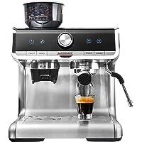 GASTROBACK #42616 Design Espresso Barista Pro, programmierbare Siebträger-Espressomaschine mit Kegelmahlwerk und…
