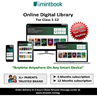 Mintbook Online Digital Library Access Code for Children From Class 1 to 12 (12 Months Subscription -Access Code/ E-Mail Delivered Within 24 Hours)