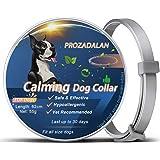 PROZADALAN Collare Calmante per Cani, Collare Calmante per Cani Regolabile Allevia Efficacemente l'ansia del Cane, Sicuro e