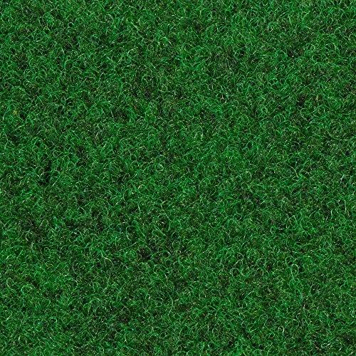 Kunstrasen Rasenteppich mit Noppen   133, 200, 250 und 400 cm Breite   verschiedene Größen   Höhe ca. 7,5mm   dunkel-grün   Größe: 5 x 4 m