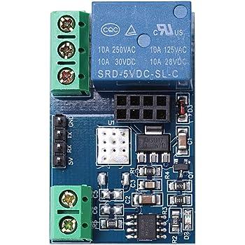 12V ESP8266 Dual WiFi Relay Module Internet Of Things Smart Home