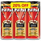 Pif Paf Cockroach and Ant Killer, Crawling Insect Killer Powder, 3x100g, Pack of 3