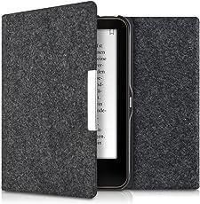 kwmobile Tolino Vision 1/2 / 3/4 HD Hülle - Filz Stoff eReader Schutzhülle Cover Case für Tolino Vision 1/2 / 3/4 HD