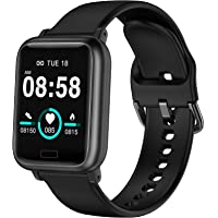 ASWEE Smart Watch, Fitness Tracker with Heart Rate Blood Pressure Monitor, Waterproof Watch with Sleep Monitor, Calorie…