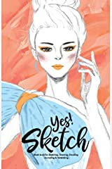 YES SKETCH: Baby Blue Girl - Book for Sketching, Drawing, Doodling, Journaling and Notetaking (Sketchbook, Band 6) Taschenbuch