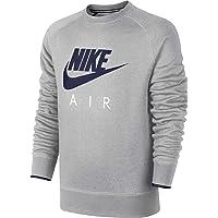 NIKE AW77 FLC Crew-Air Heritag – Men's Sweatshirt