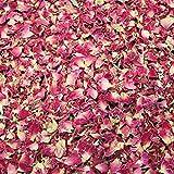 Spirit of Avalon Rosenblütenblätter 70g, Rosen-Blätter, Rosen-Blüten, Rosen natürlich Sonnen getrocknet Deko, Hochzeit, Feiern, Basteln, Räuchern