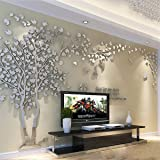 Árbol 3D Pegatinas de Pared, DIY Árbol Calcomanías Murales Adhesivo Pegatinas Decoración Hogareña Artes de Salón, Dormitorio,