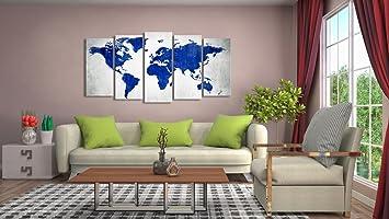 999store multiple framed printed blue blank world map canvas 999store multiple framed printed blue blank world map canvas painting amazon home kitchen gumiabroncs Images
