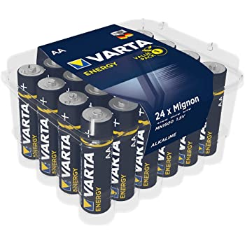Varta Energy - Pack de 24 pilas alcalinas AA / LR6 / Mignon