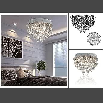 Fuloon Neu Modern Kristall-Deckenleuchte-hängende Leuchte