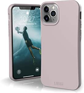 Urban Armor Gear Outback Bio Case Apple Iphone 11 Pro Protective Case Biodegradable Materials Wireless Charging Compatible Shockproof Mobile Phone Case Ultra Slim Bumper Lilac Elektronik
