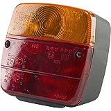 AMCAR 5419 Aanhangerachterlicht, 4 Functies, 10.5 x 5.2 x 10 cm