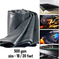 tclpvc Stock Clear Deal 500 GSM Heavy Duty 18/20 feet Pond and Flexible Multipurpose Sheet Code - Professional Style Tent