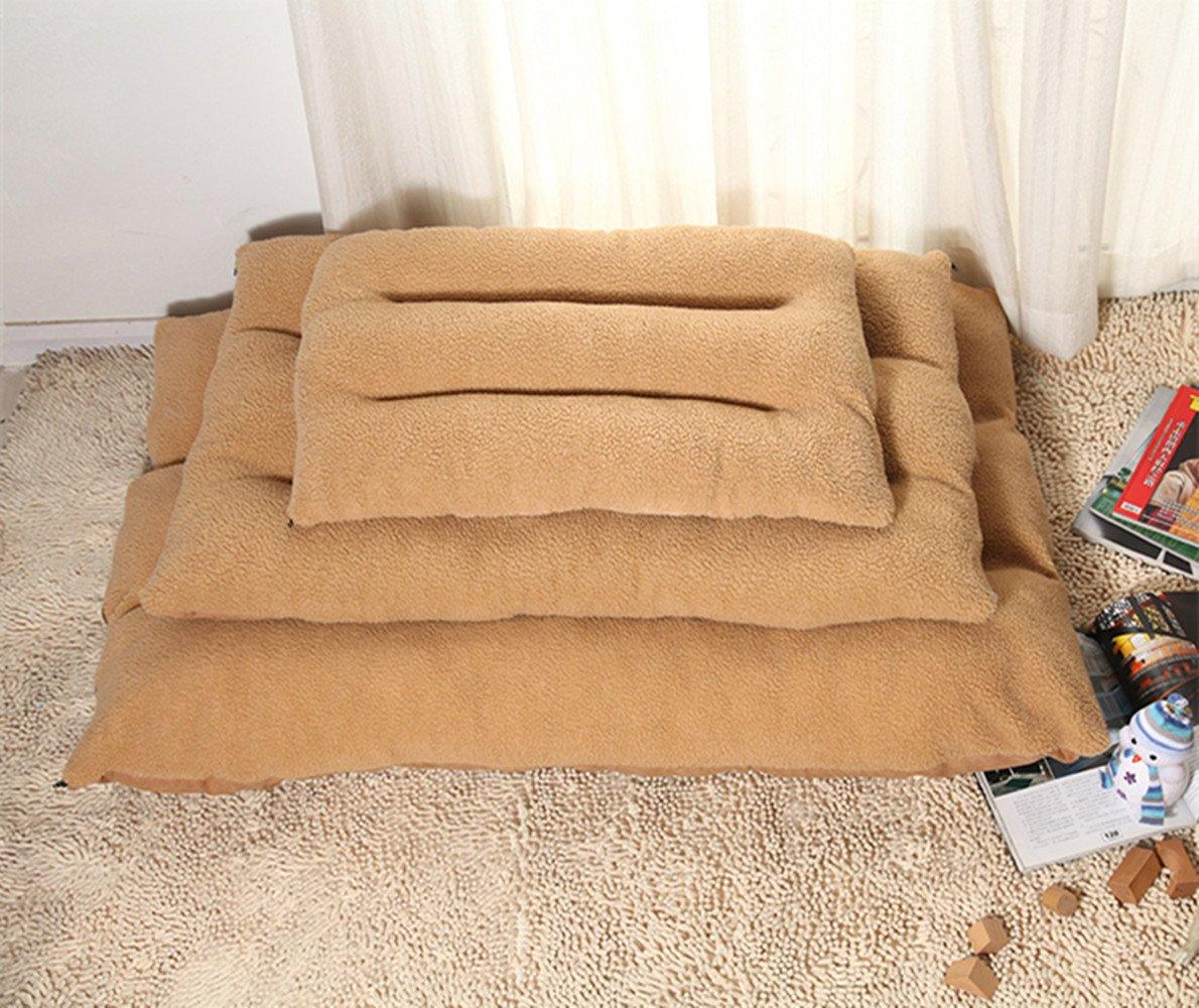 AcornPets-B1-Super-Warm-Soft-Luxury-Large-Dog-Bed-Pillow-Puppy-Cat-Pet-Comfy-Fur-Fleece