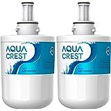 AQUACREST DA29-00003G Filtre à Eau pour Réfrigérateur, Compatible avec Samsung Aqua Pure Plus DA29-00003G,DA29-00003B,DA29-00