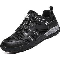 Lvptsh Chaussures de Marche Femme Homme Chaussures de Randonnée Respirant Antidérapant Bottes d'escalade Bottes de…