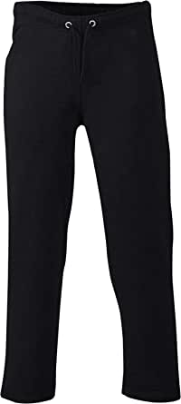 Love My Fashions® New Mens Open Hem Self Belt Elasticated Plain Jogging Fleece Bottoms Casual Joggers Pants Tracksuits S M L XL XXL XXXL XXXXL Plus Size