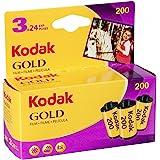 Kodak 6033971 Gold 200 film (paars/geel) – 3 rollen – 24 belichtingen per rol