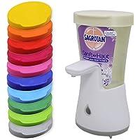 Auslaufsicherer Nachfülldeckel mit Lasche für Sagrotan No Touch Spender Deckel (Reinigung: NICHT für Spülmaschinen…