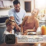Rivestimenti Per Friggitrici Ad Aria Riutilizzabili Airware,accessori Per Friggitrici Ad Aria Quadrata Cuscinetto In Silicone