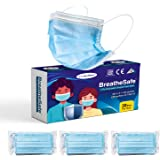 BreatheSafe 3 Ply Surgical Mask, BFE & PFE >98% ISI, BIS, CE, ISO & TGA Certified, SITRA Tested, Complies to ASTM Level 3 & I