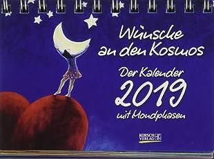 Wünsche an den Kosmos 2019: Tages-Aufstellkalender
