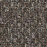 Teppichboden Auslegware Meterware Schlinge gemustert grau beige 200, 300, 400 und 500 cm breit, verschiedene Längen, Variante: 7 x 2 m