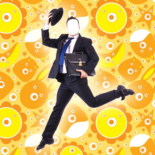 Verrückt-Foto-Montage - Interessante Kostüm