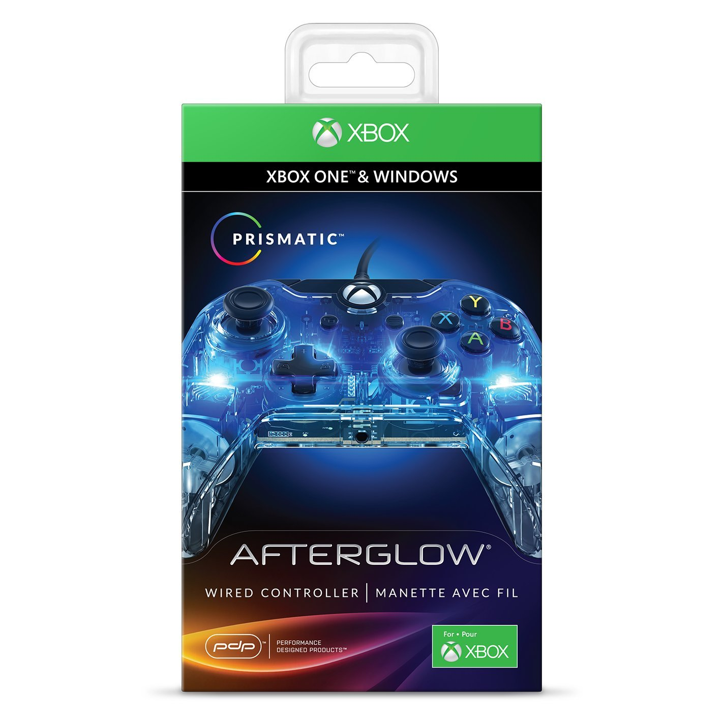Afterglow Manette Filaire Xbox One – Prismatic