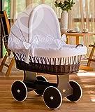 ComfortBaby ® Snuggly Baby Stubenwagen - komplette 'all inclusive' Ausstattung - Zertifiziert & Sicher
