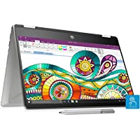 HP Pavilion x360 Core i7 8th Gen 14-inch Touchscreen 2-in-1 FHD Thin and Light Laptop (16GB/512GB SSD/Windows 10/MS…