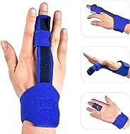Trigger Finger Splint, Hand Finger Splint Support for Trigger Finger, Mallet Finger, Middle Finger, Pinky Finger, Ring Finger