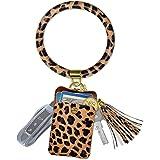 Keychain Bracelet, Doormoon Tassel Key Chain Wristlet Ring Circle Bangle