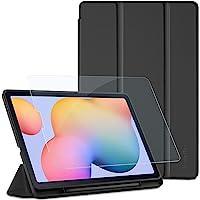 EasyAcc Custodia Compatibile con Samsung Galaxy Tab S6 Lite 10.4 con Vetro Temperato-Ultra Sottile con Cover Leggero…