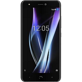 BQ Aquaris X Pro Smartphone, Dual SIM, Nero (Midnight Nero), 64 GB
