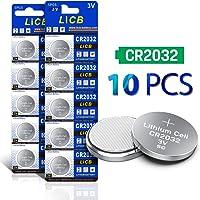 LiCB CR2032 3V Lithium Battery CR 2032 10PCS