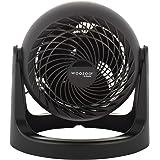 Woozoo ® by Ohyama, Ventilateur de bureau / de table puissant et silencieux, 30W, Hélices 3D brevetées, Rotation 360°, 3 vite