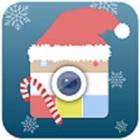 Weihnachten Photo Editor mit Frames und Grenz