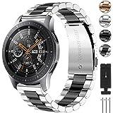 CAVN Cinturino Compatibile con Samsung Galaxy Watch 46mm / Galaxy Watch 3 45mm /Huawei GT 2 46mm Cinturino, 22mm Inossidabile