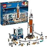 LEGO 60228 City Space Port Ruimteraket en vluchtleiding speelgoed set