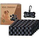 Biologisch afbreekbare hondenpoepzakken met zakdispenser, 540 stuks, lekvrij, grote en extra dikke poepzakken voor honden, ge